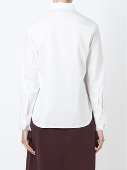 Блузка С Бахромой На Манжетах 3.1 Phillip Lim                                                                                                              белый цвет