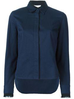 Блузка С Бахромой На Манжетах 3.1 Phillip Lim                                                                                                              синий цвет