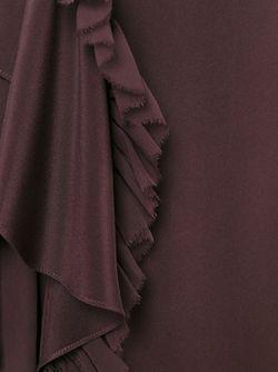 Юбка С Драпированными Деталями 3.1 Phillip Lim                                                                                                              красный цвет