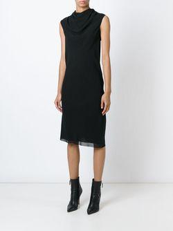 Платье-Туника Bonnie Rick Owens                                                                                                              чёрный цвет