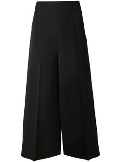 Широкие Кюлоты Valentino                                                                                                              черный цвет