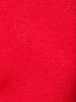 Облегающий Свитер С Отворотной Горловиной Emilia Wickstead                                                                                                              красный цвет