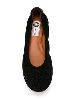 Классические Балетки Lanvin                                                                                                              чёрный цвет