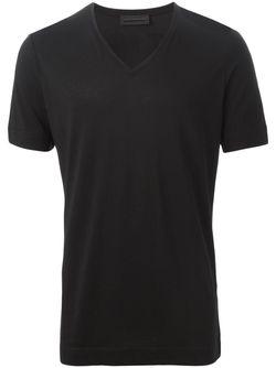 Футболка C V-Образным Вырезом Diesel Black Gold                                                                                                              черный цвет
