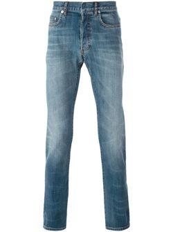 Джинсы Кроя Слим Dior Homme                                                                                                              синий цвет