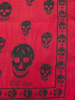 Шарф Skull Alexander McQueen                                                                                                              розовый цвет