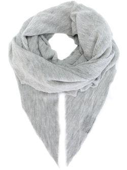 Шарф С Заостренными Концами Poème Bohèmien                                                                                                              серый цвет
