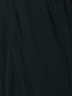 Длинный Кардиган С Запахом Rick Owens                                                                                                              чёрный цвет