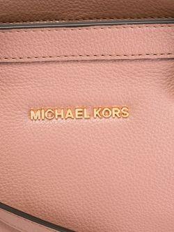 Сумка-Тоут С Логотипом Michael Michael Kors                                                                                                              розовый цвет