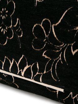Сумка На Плечо С Цветочным Узором Lanvin                                                                                                              черный цвет