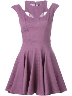 Платье Flower Philipp Plein                                                                                                              розовый цвет
