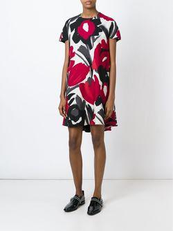 Платье Irina Eggs                                                                                                              красный цвет
