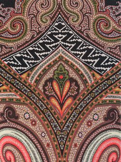 Водолазка С Принтом Пейсли Etro                                                                                                              коричневый цвет