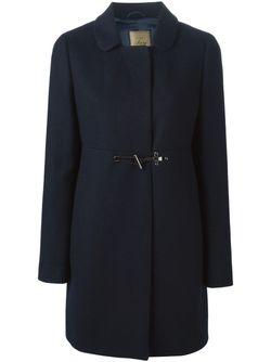 Однобортное Пальто Fay                                                                                                              синий цвет