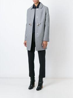 Однобортное Пальто Fay                                                                                                              серый цвет
