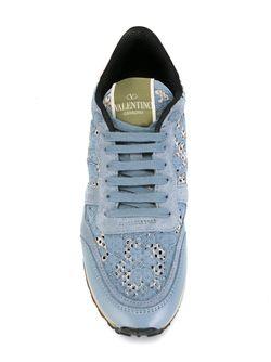 Кроссовки Rockrunner Valentino Garavani                                                                                                              синий цвет