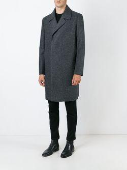 Пальто На Пуговицах Cerruti 1881                                                                                                              серый цвет