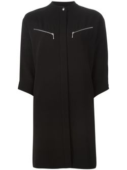 Band Collar Shirt Dress Alexander Wang                                                                                                              чёрный цвет