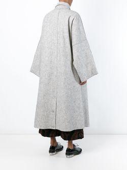 Пальто На Пуговицах TOOGOOD                                                                                                              серый цвет