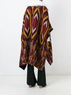 Трикотажная Накидка Свободного Кроя Chloe                                                                                                              многоцветный цвет