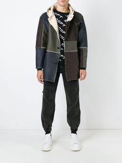 Patchwork Duffle Coat GOSHA RUBCHINSKIY                                                                                                              коричневый цвет