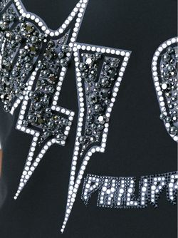 Топ Holy Chic Philipp Plein                                                                                                              черный цвет