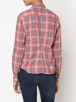 Рубашка В Клетку FRANK & EILEEN                                                                                                              красный цвет