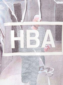 Толстовка С Принтом Логотипа HOOD BY AIR                                                                                                              многоцветный цвет