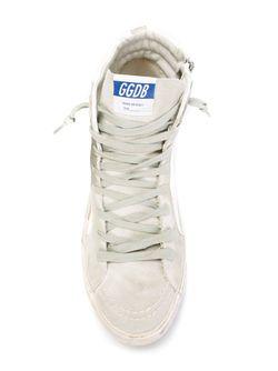 Высокие Кеды Slide Golden Goose                                                                                                              белый цвет