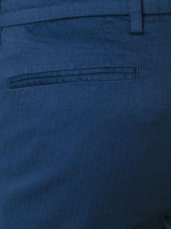 Классические Брюки Boss Hugo Boss                                                                                                              синий цвет