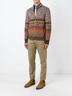 Signature Zig Zag Knit Sweater Missoni                                                                                                              коричневый цвет