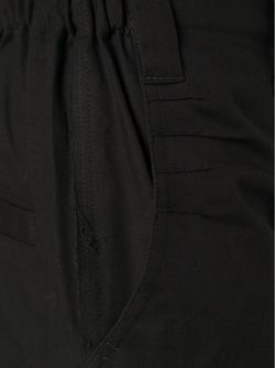 Брюки С Низом Брючин На Завязках Julien David                                                                                                              чёрный цвет