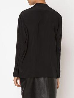 Блузка С Вырезом Замочная Скважина PROTAGONIST                                                                                                              черный цвет