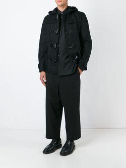Укороченный Дафлкот Comme Des Garcons                                                                                                              черный цвет