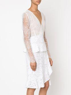 Кружевное Платье Farley Altuzarra                                                                                                              белый цвет