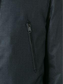 Однобортный Плащ Brioni                                                                                                              серый цвет
