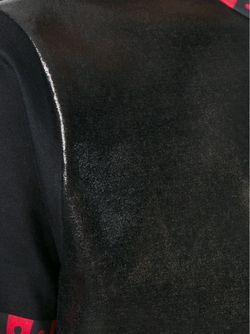 Вощеная Блузка Fausto Puglisi                                                                                                              черный цвет