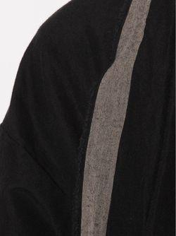 Драпированное Пальто UMA WANG                                                                                                              черный цвет