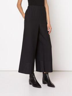 Wide Leg Cropped Trousers Issey Miyake                                                                                                              синий цвет