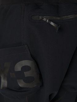 Спортивные Брюки С Заниженной Проймой Y-3                                                                                                              черный цвет