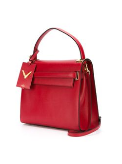 Сумка-Тоут My Rockstud Valentino Garavani                                                                                                              красный цвет