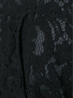 Кардиган С Кружевной Спинкой Sacai Luck                                                                                                              черный цвет