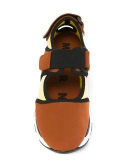 Кроссовки На Липучке Marni                                                                                                              желтый цвет