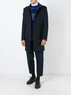 Палтье С Высоким Воротником Kenzo                                                                                                              синий цвет