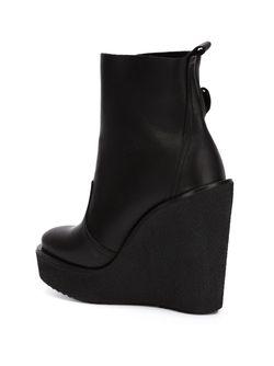 Ботинки На Танкетке Pierre Hardy                                                                                                              черный цвет