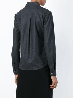 Фланелевая Рубашка Layaan На Молнии Theory                                                                                                              серый цвет