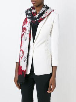 Шарф С Цветочным Принтом Dolce & Gabbana                                                                                                              Multicolour цвет