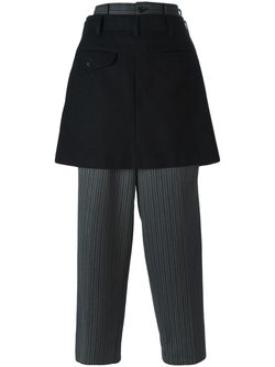 Skirt And Trouser Combo Comme Des Garcons                                                                                                              серый цвет