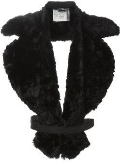 Меховой Воротник Comme Des Garcons                                                                                                              черный цвет