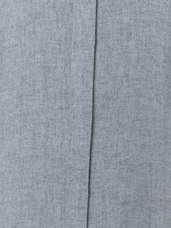 Длинное Платье-Рубашка Theory                                                                                                              серый цвет